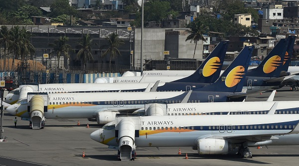 "The airline's creditors, who are owed more than $1 billion, said after a meeting in Mumbai that only one ""conditional"" offer has been received for Jet Airways (Photo: PUNIT PARANJPE/AFP/Getty Images)."