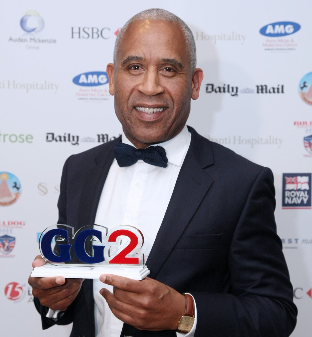 Sir Simon Woolley was awarded the Pride of Britain Award at the GG2 Leadership and Diversity Awards in 2013.