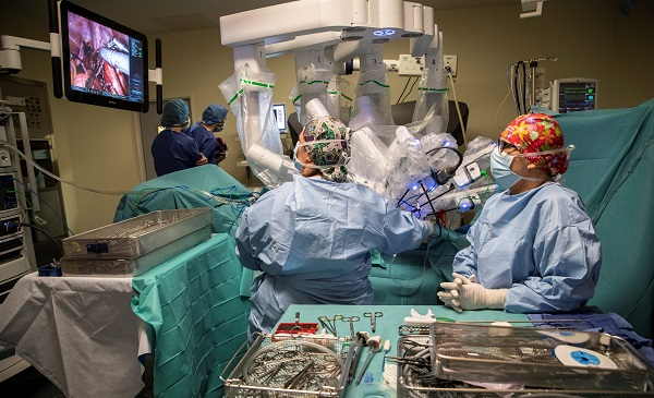 Researchers at the University of Birmingham have confirmed that the NHS achieved the reduction between 1998 and 2014, coinciding with the introduction of the World Health Organisation (WHO) Surgical Safety Checklist in 2008 (Photo: THOMAS SAMSON/AFP/Getty Images).