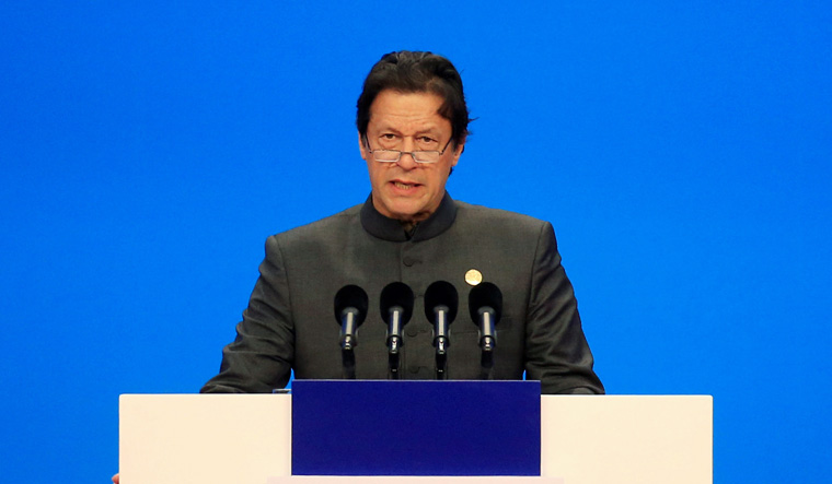 Interestingly last month, senior US diplomat Alice Wells said that there is no transparency in the China-Pakistan Economic Corridor (CPEC) and the firms blacklisted by the World Bank have got contracts under the project, which will increase Pakistan's debt burden (Photo of Imran Khan by Reuters).