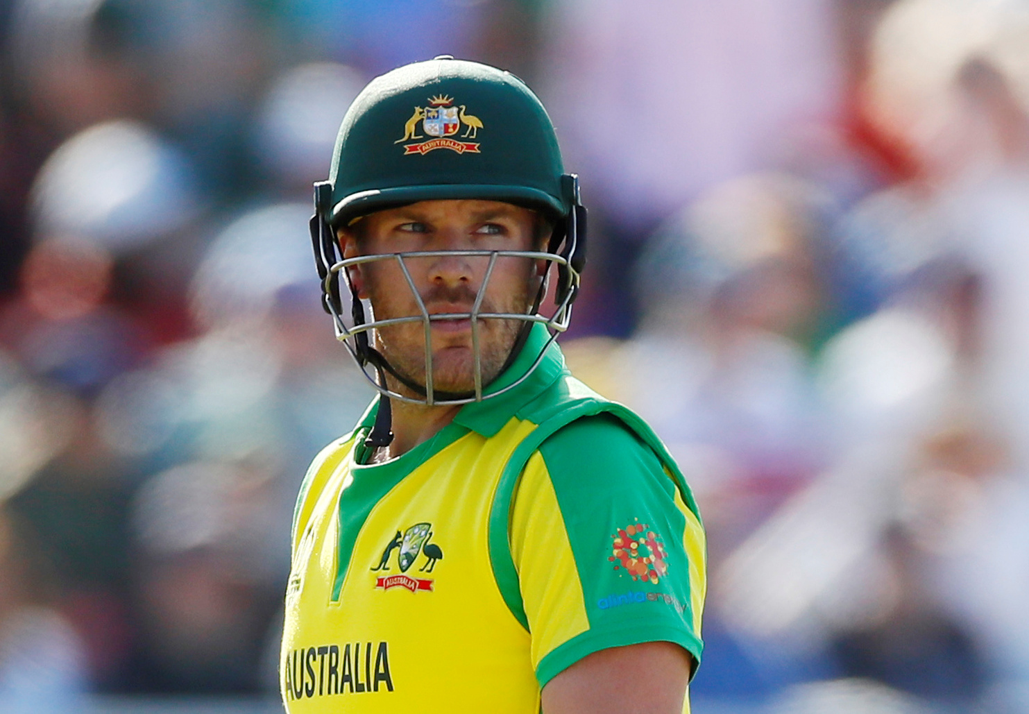 Australia's Aaron Finch  Action Images via Reuters/Jason Cairnduff