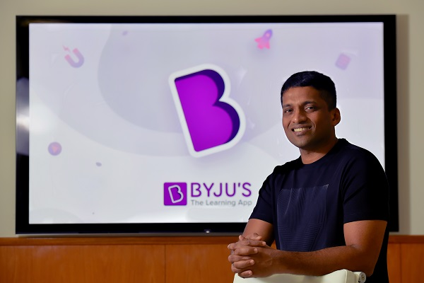 """""""Investment from prominent sovereign and pension funds validates our strong business fundamentals. Indian ed-tech firms attracting interest from eminent investors demonstrates that India is pioneering the digital learning space globally,"""" BYJU'S founder and CEO Byju Raveendran said (Photo: MANJUNATH KIRAN/AFP/Getty Images)."""