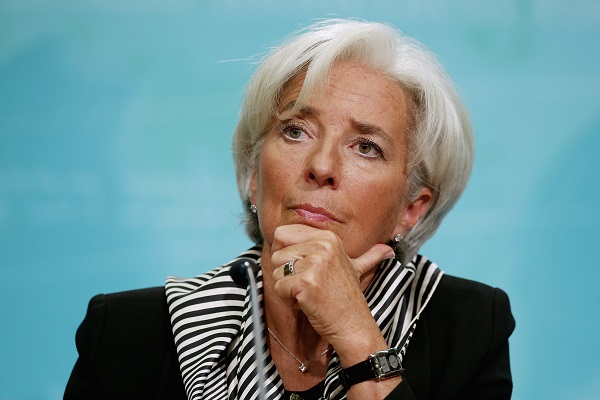 Christine Lagarde formally submitted her resignation earlier this week.  (Photo by Chip Somodevilla/Getty Images)
