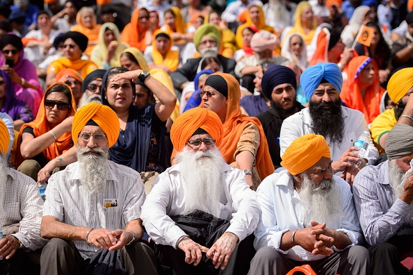 According to some British Sikh groups, public bodies tend to only reference the ethnic groups used in the census and demand a separate Sikh ethnic tick box to ensure Sikhs have fair access to all public services. (Photo: LEON NEAL/AFP/Getty Images)