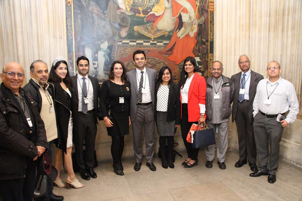 The function was hosted by Bob Blackman MP. It was attended by community leaders of eight different religious backgrounds and chairpersons of over 25 Indian organisations.