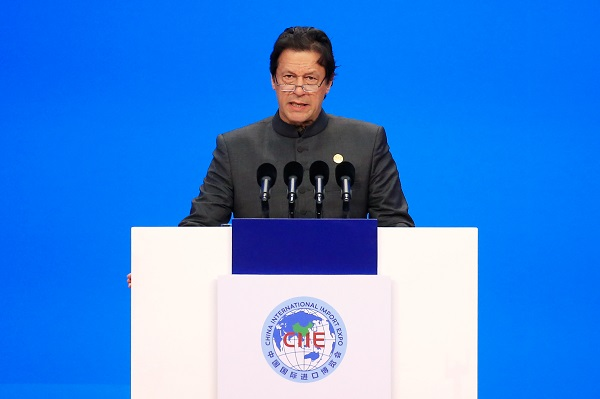 Imran Khan (Photo: ALY SONG/AFP/Getty Images).