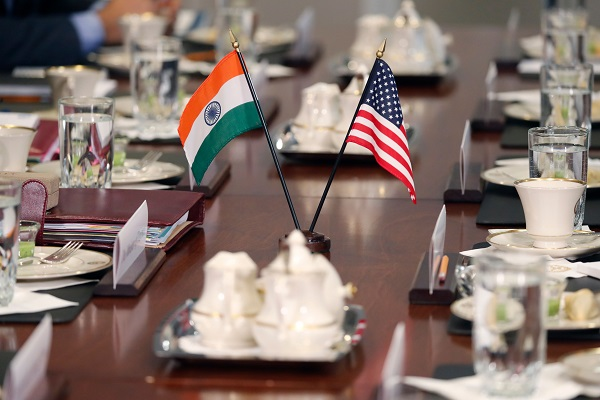 A delegation led by Assistant US Trade Representative (AUSTR) for South and Central Asia, Christopher Wilson, will meet Indian officials to try and re-start negotiations on tit-for-tat tariffs that were put on hold because of India's election (Photo: ROBERTO SCHMIDT/AFP/Getty Images).