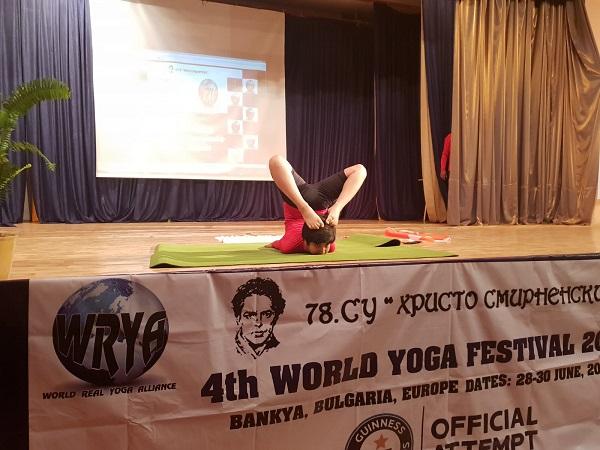 Ishwar Sharma Performing In Bulgaria.