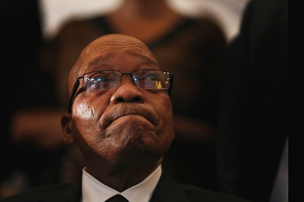 """Zuma said he had conceived the idea of having an """"alternative media"""" in South Africa because """"the media in this country is very biased; at all material times, just critical"""" (Photo: Christopher Furlong/Getty Images)."""