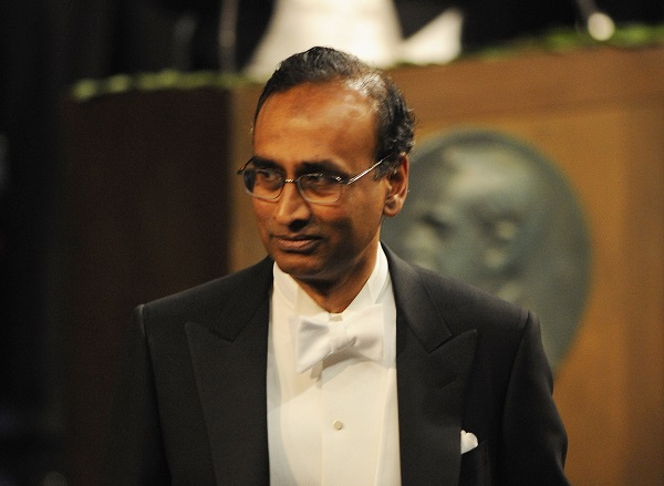 """Venki did not mention the word 'Brexit', but his intent was clear when he said: """"Given today's world and particularly in the context of Britain, I should point out that one of the society's goals is to foster international and global cooperation (Photo: Pascal Le Segretain/Getty Images)."""