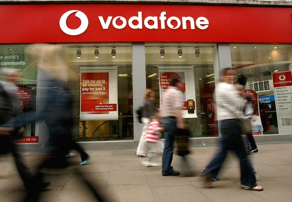 """In a statement to the country's Bombay Stock Exchange (BSE) on Thursday, Vodafone Idea said: """"As regards the exit of India operations by Vodafone Group is concerned, we wish to inform you that the company is not aware about anything on the subject as it pertains to Vodafone Group and, hence, cannot comment on the same."""" (Photo: CARL DE SOUZA/AFP/Getty Images)."""