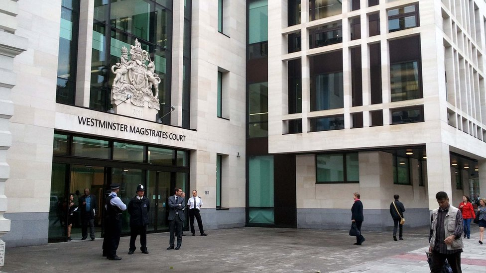 The decision was made at Westminster Magistrates Court
