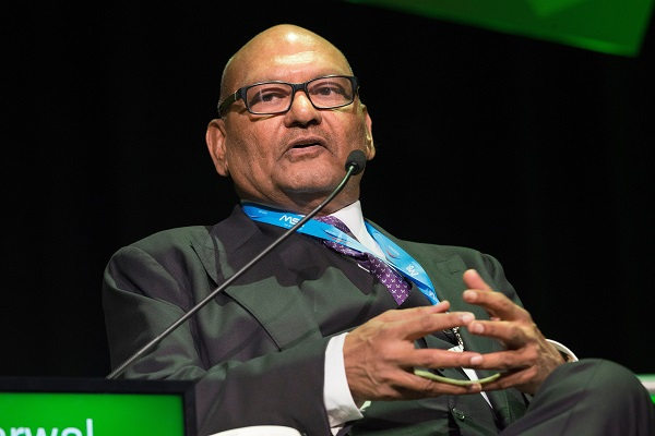 FILE PHOTO: Vedanta chairman Anil Agarwal  (Photo: RODGER BOSCH/AFP/Getty Images).