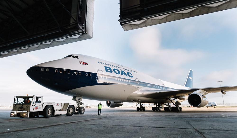 A BOAC plane