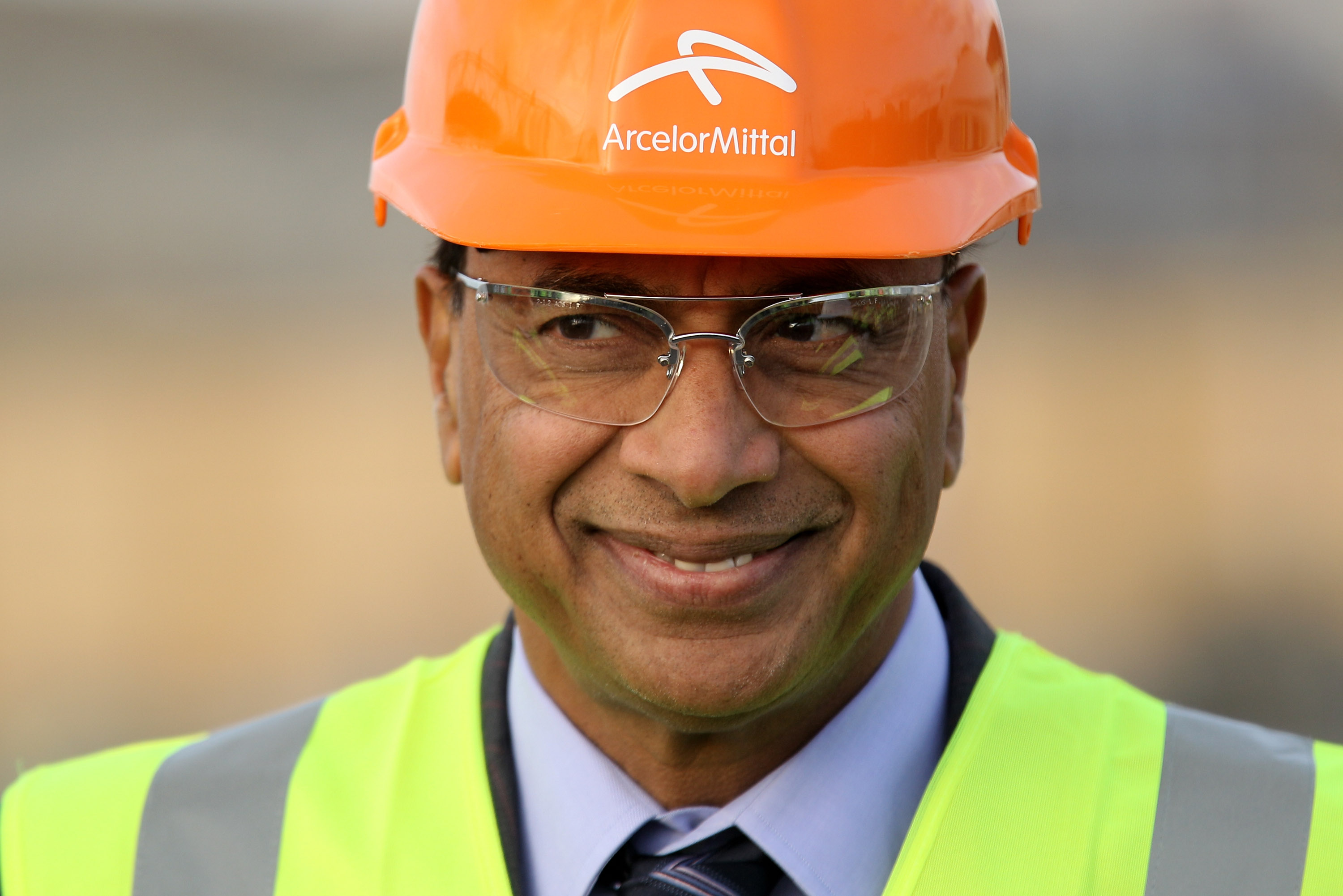 Lakshmi Mittal, the CEO and Chairman of ArcelorMittal, (Photo by Oli Scarff/Getty Images)