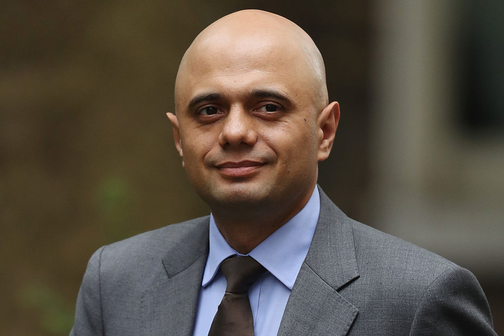 Sajid Javid (Photo by Dan Kitwood/Getty Images)