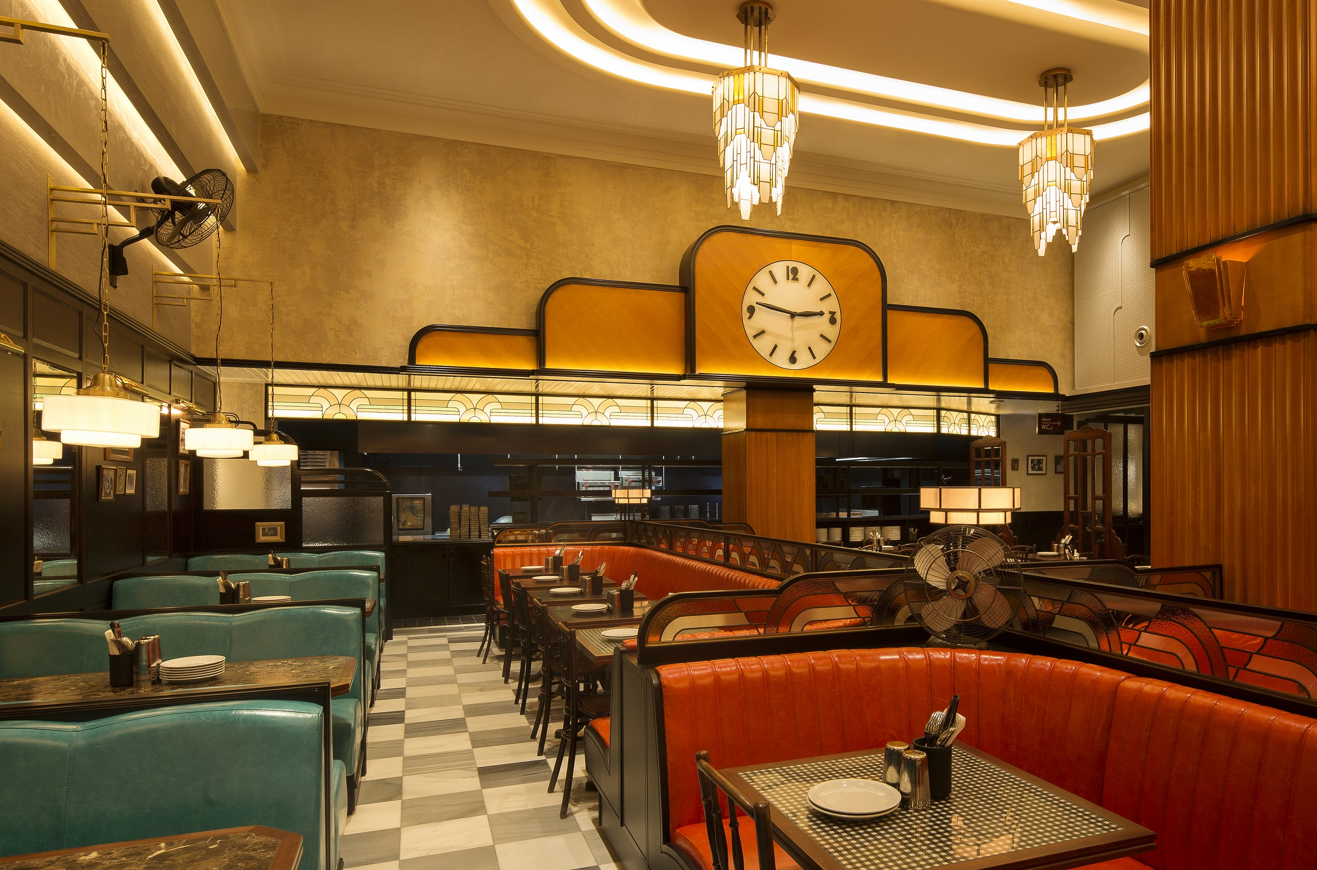 Dishoom has five restaurants located across areas of  London including Kensington (pictured) and King's Cross. The business also has eateries in Edinburgh and Manchester. (Photo Credit: John Carey)