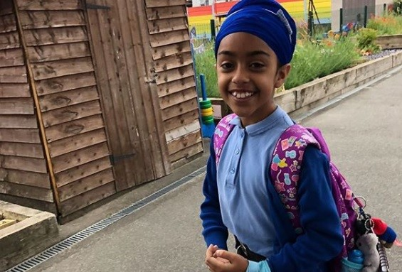 Schoolgirl Munsimar Kaur shared her experiences of racism in a video over the weekend