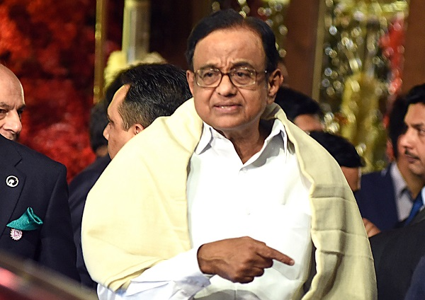 The rare action against P Chidambaram, a top leader of the main opposition Congress party and a trenchant critic of prime minister Narendra Modi's government, drew opposition accusations that the authorities are pursuing a political vendetta (Photo: SUJIT JAISWAL/AFP/Getty Images).
