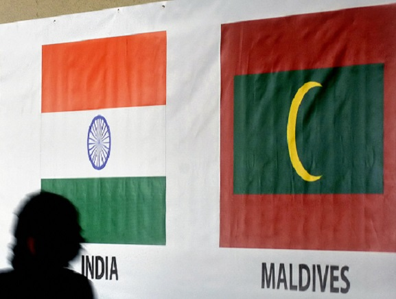 """""""There have been statements issued by the Maldives Police that he will be returned to Maldives. I would remind the Maldives authorities that he has claimed asylum and if they want to return him to the Maldives, the proper course of action is through a request for extradition, not through any other means,"""" Cadman said (Photo: JEWEL SAMAD/AFP/Getty Images)."""
