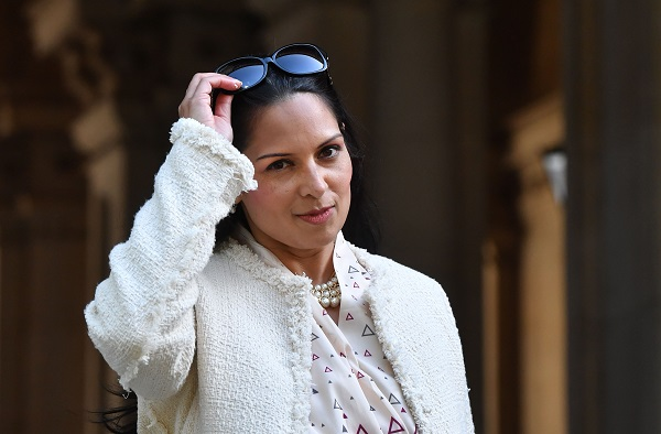 Priti Patel (Photo: BEN STANSALL/AFP/Getty Images).