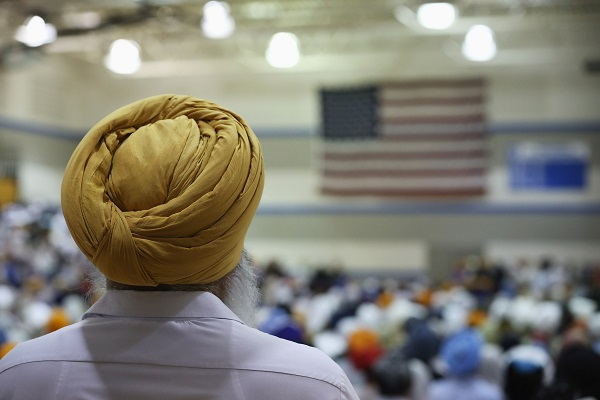 Indiana is home to more than 10,000 Sikhs. (Photo: Scott Olson/Getty Images).
