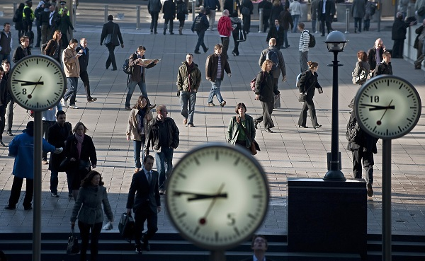Figures earlier this year from the Office for National Statistics showed almost one in five 35-to-49-year-olds fit that bill due to taking the plunge into new industries (Photo: BEN STANSALL/AFP/Getty Images).