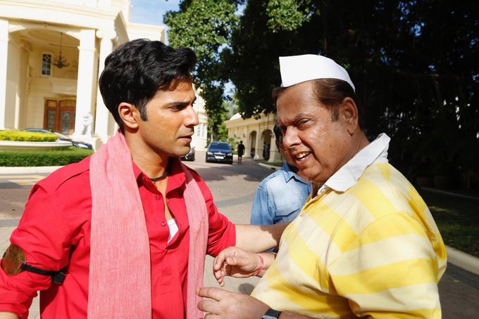 Varun Dhawan wishes father David Dhawan Happy Birthday in his Coolie No.1  avatar - EasternEye