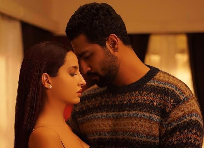 Poster of Vicky Kaushal and Nora Fatehi's single Pachtaoge unveiled