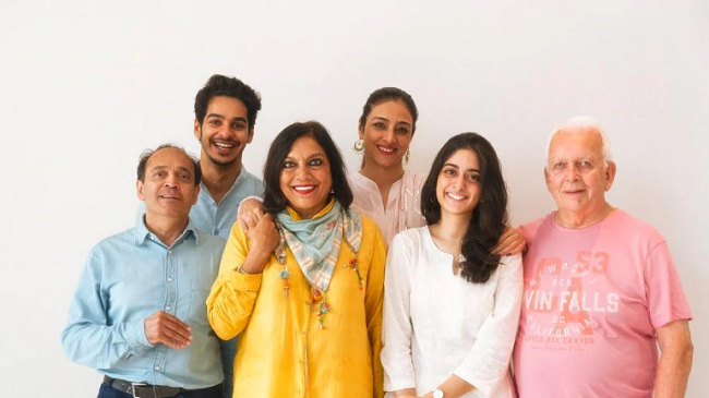 Vikram Seth, Ishaan Khatter, Mira Nair, Tabu, Tanya Maniktala, and Andrew Davies.