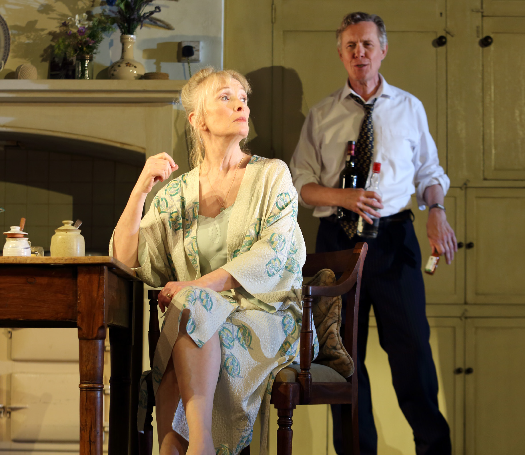 Alex Jennings (right) and Lindsay Duncan