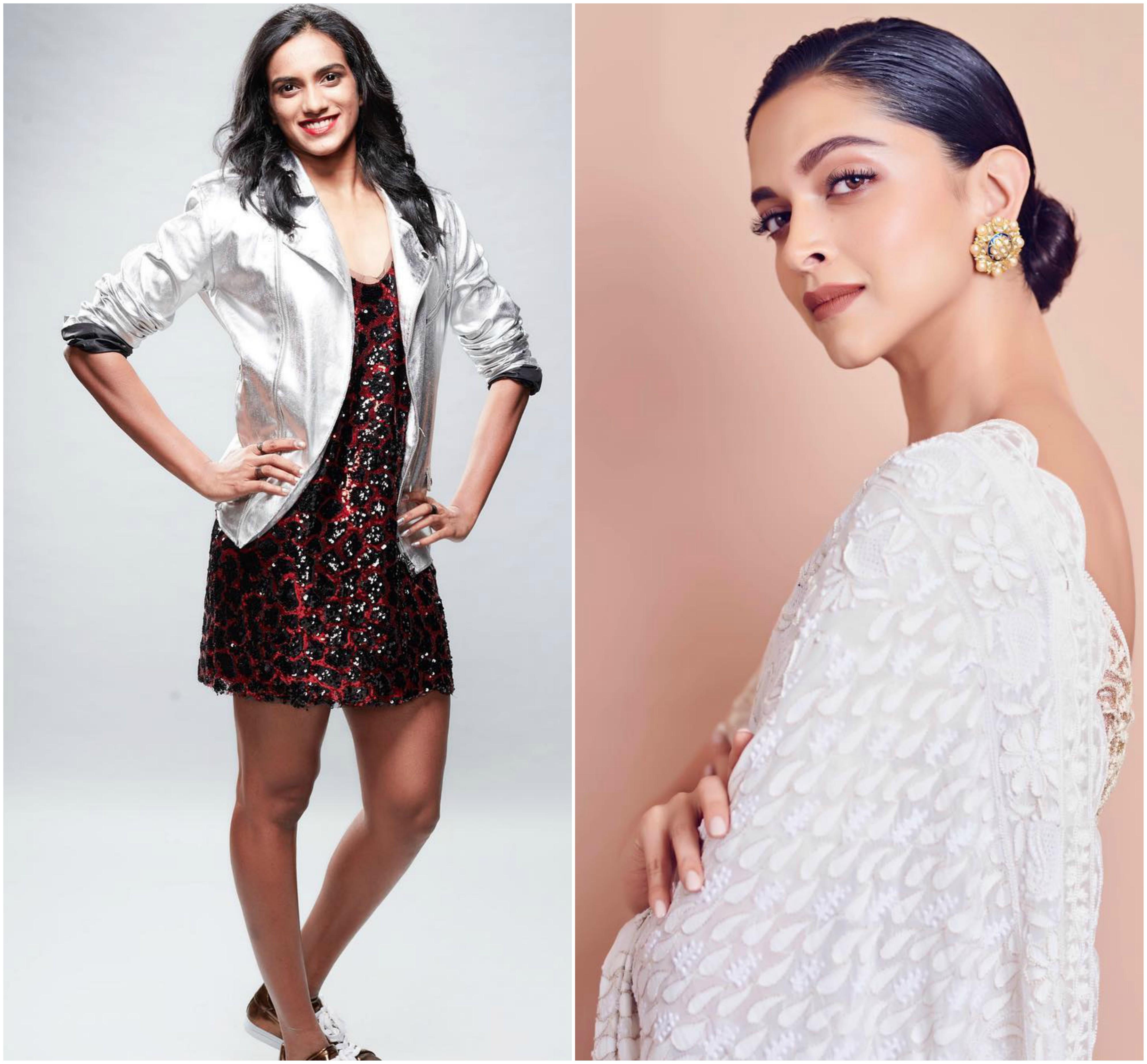 PV Sindhu & Deepika Padukone