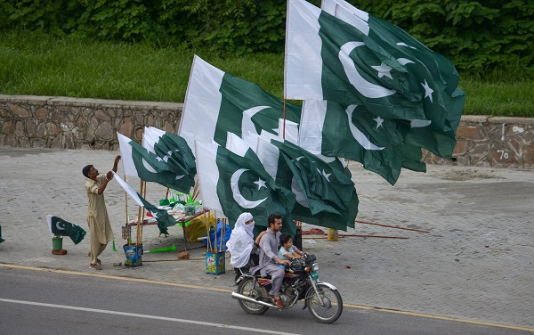 """""""The entirety of the state of Jammu and Kashmir is part of sovereign India, and people that ask for UN resolution to be implemented ignore the first resolution, which is that Pakistani military forces should leave Kashmir to re-unite the state,"""" Blackman said at the """"Balidan Divas"""" or Day of Sacrifice event held in London (Photo: FAROOQ NAEEM/AFP/Getty Images)."""