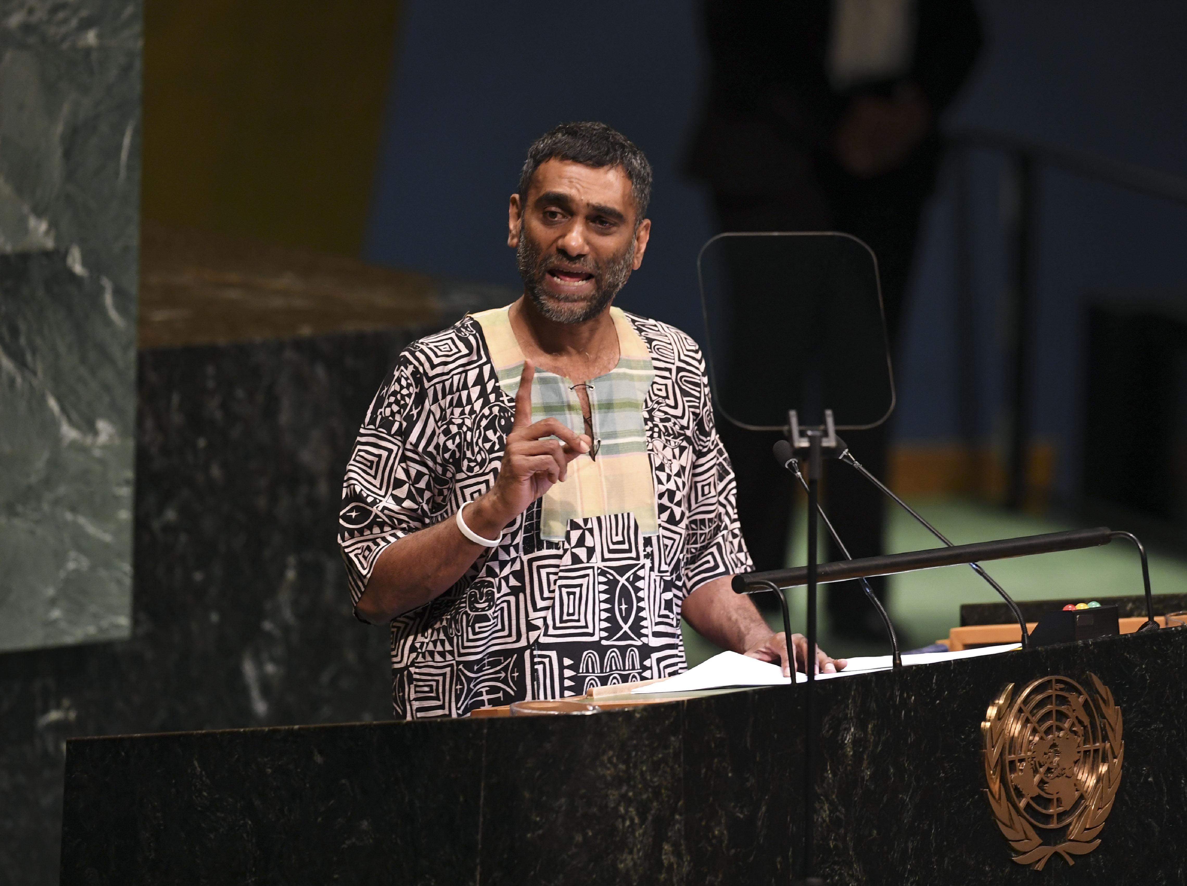 Kumi Naidoo, Secretary General of Amnesty International  (DON EMMERT/AFP/Getty Images)