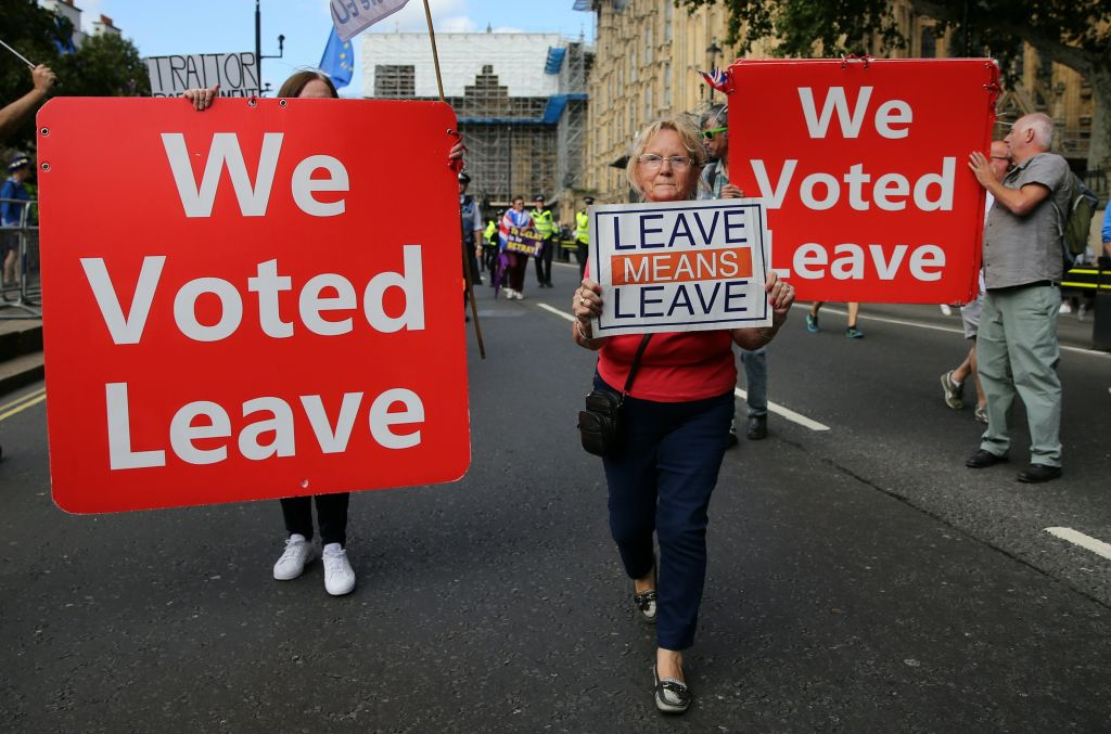 The Brexit referendum revealed a divided nation (Photo: ISABEL INFANTES/AFP/Getty Images)
