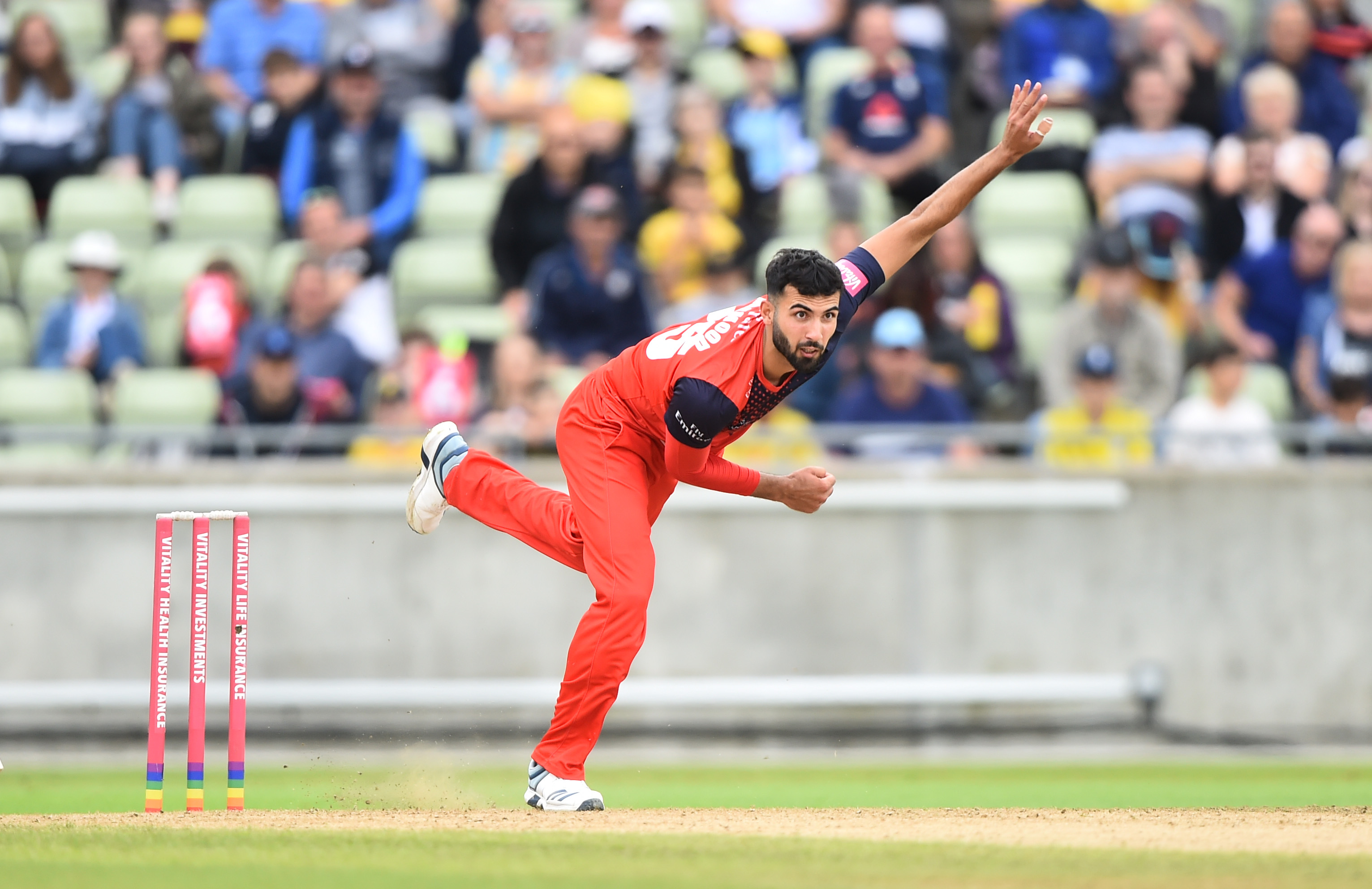 Saqib Mahmood   (Photo by Nathan Stirk/Getty Images)