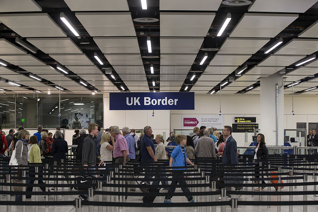 A Home Office spokesperson said the government has made significant changes to its asylum system.(Photo by Oli Scarff/Getty Images)