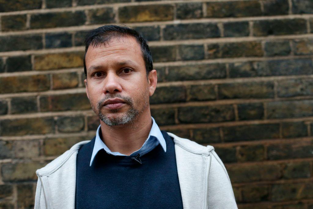 Acid attack victim Jabed Hussain (Photo: DANIEL LEAL-OLIVAS/AFP/Getty Images)