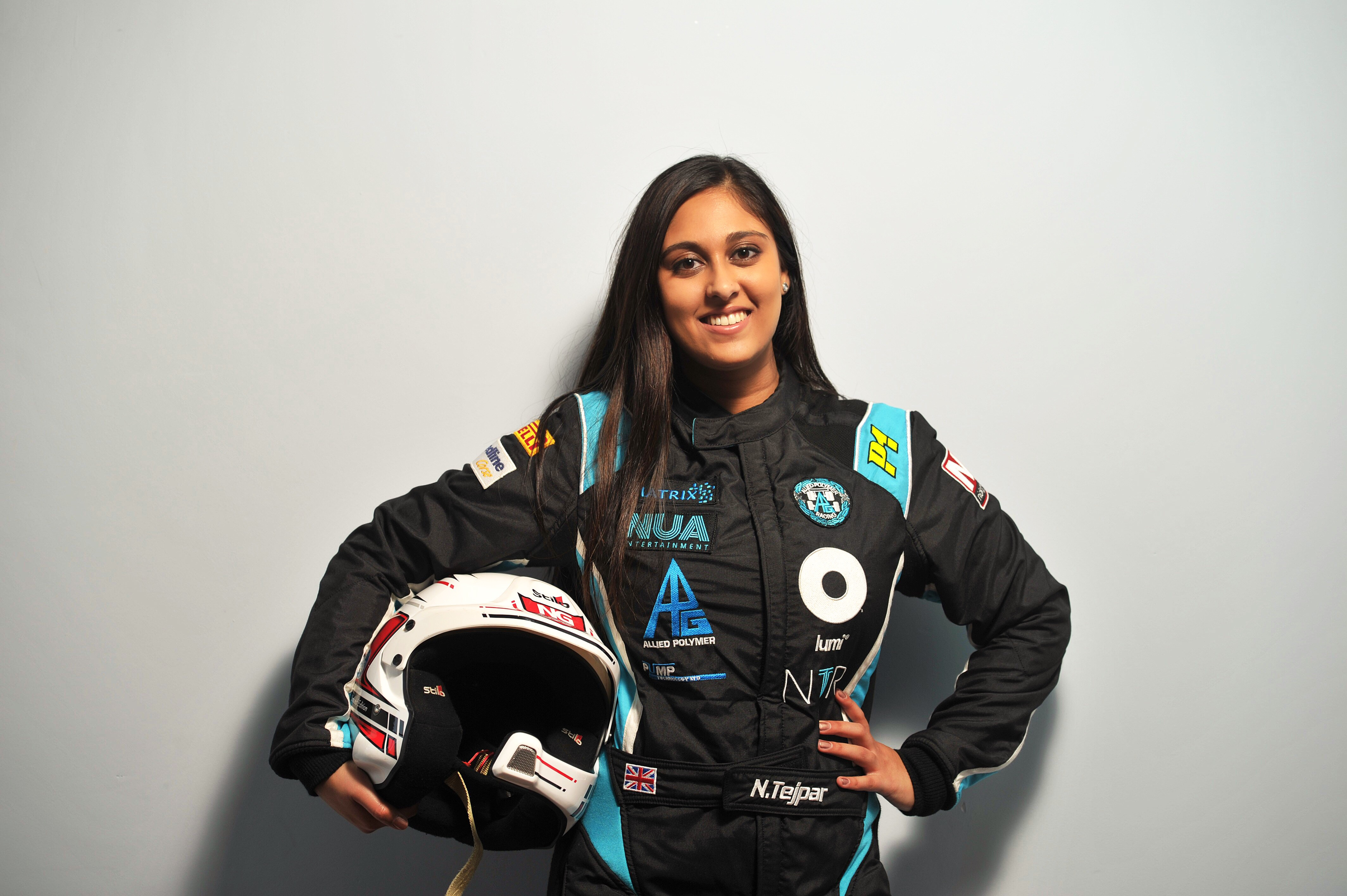 British champion Nabila Tejpar believes that all motorsports are perceived to be dominated by men