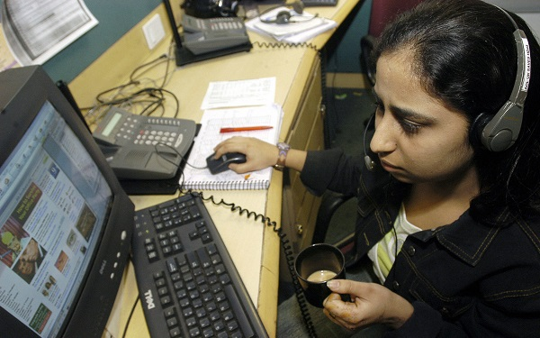 """The computer services industry in India is increasingly catering to the domestic market, leveraging expertise gained from exporting, while at the same time reducing an over-reliance on such exports,"" stated the report by the United Nations Conference on Trade and Development (UNCTAD) (Photo: STR/AFP/Getty Images)."
