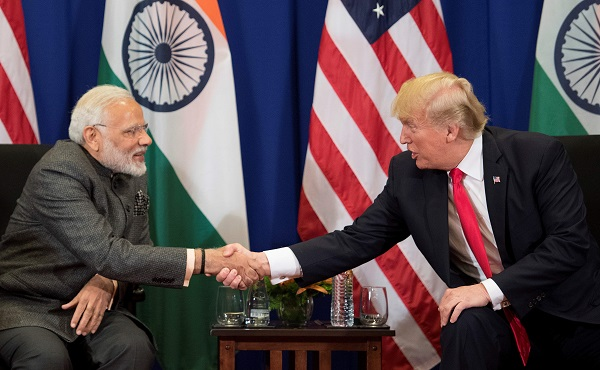 "The September 22 rally- dubbed, with a touch of Texan twang, ""Howdy, Modi!"" -- will mark a rare joint appearance between a US president and a foreign leader before an ethnic community, and be the pair's third meeting this year (Photo: JIM WATSON/AFP/Getty Images)."