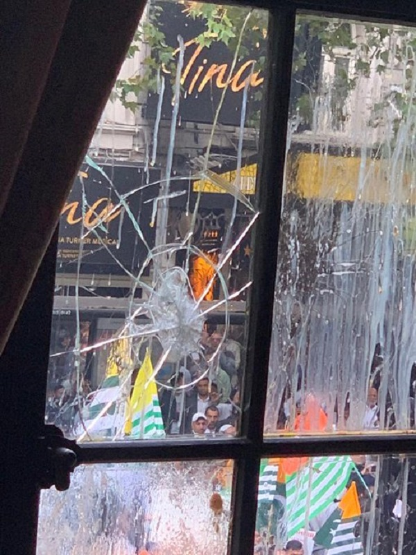 India's concerns will also be communicated to the British officials when the latest development is discussed through diplomatic channels, reports added. Further, what's worrying India is the manner in which the continuing protests have been played down by the UK authorities (Photo: @HCI_London/Twitter).