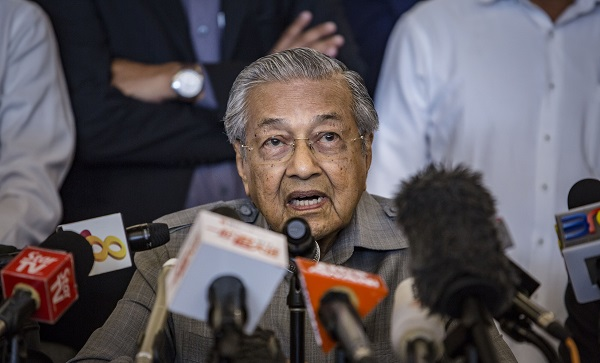 Mahathir said that Modi, whom he met in Russia during an economic forum earlier this month, made no extradition request for the controversial Islamic televangelist despite official notice from New Delhi (Photo: Ulet Ifansasti/Getty Images).