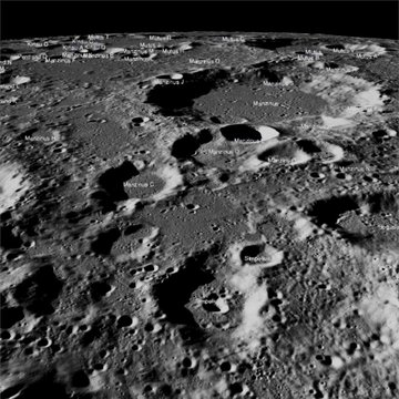 """The site was about 600 kilometres from the south pole in a relatively ancient terrain, according to the US space agency. """"Vikram had a hard landing and the precise location of the spacecraft in the lunar highlands has yet to be determined,"""" the National Aeronautics and Space Administration (NASA) said (@NASA/Twitter)."""