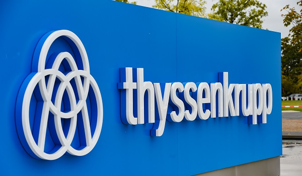 """""""We regret the European Commission's decision and regard it as too far-reaching and wrong. That is why we are filing a complaint,"""" said Donatus Kaufmann, member of ThyssenKrupp's board (Photo: PATRIK STOLLARZ/AFP/Getty Images)."""