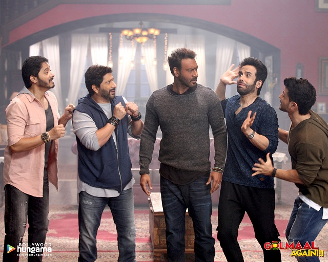 COMEDY RULES: 2017 Diwali blockbuster Golmaal Again