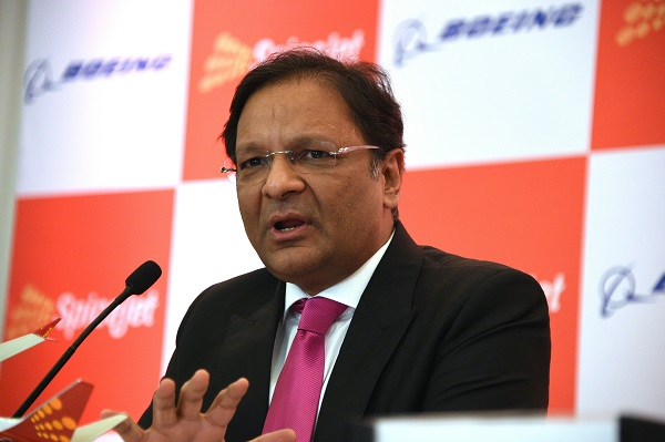 Ajay Singh, Chairman and Managing Director, SpiceJet, in an interview rued that the civil aviation sector in India is highly taxed and identified it as one of the major stumbling blocks in making it globally competitive (Photo: DOMINIQUE FAGET/AFP/Getty Images).