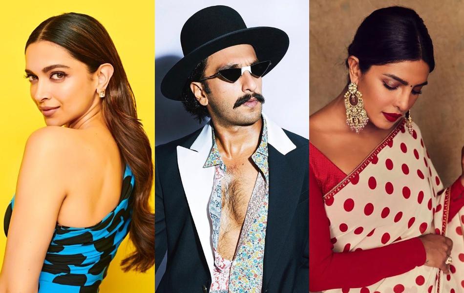 Instagram: Deepika Padukone, Ranveer Singh, Priyanka Chopra