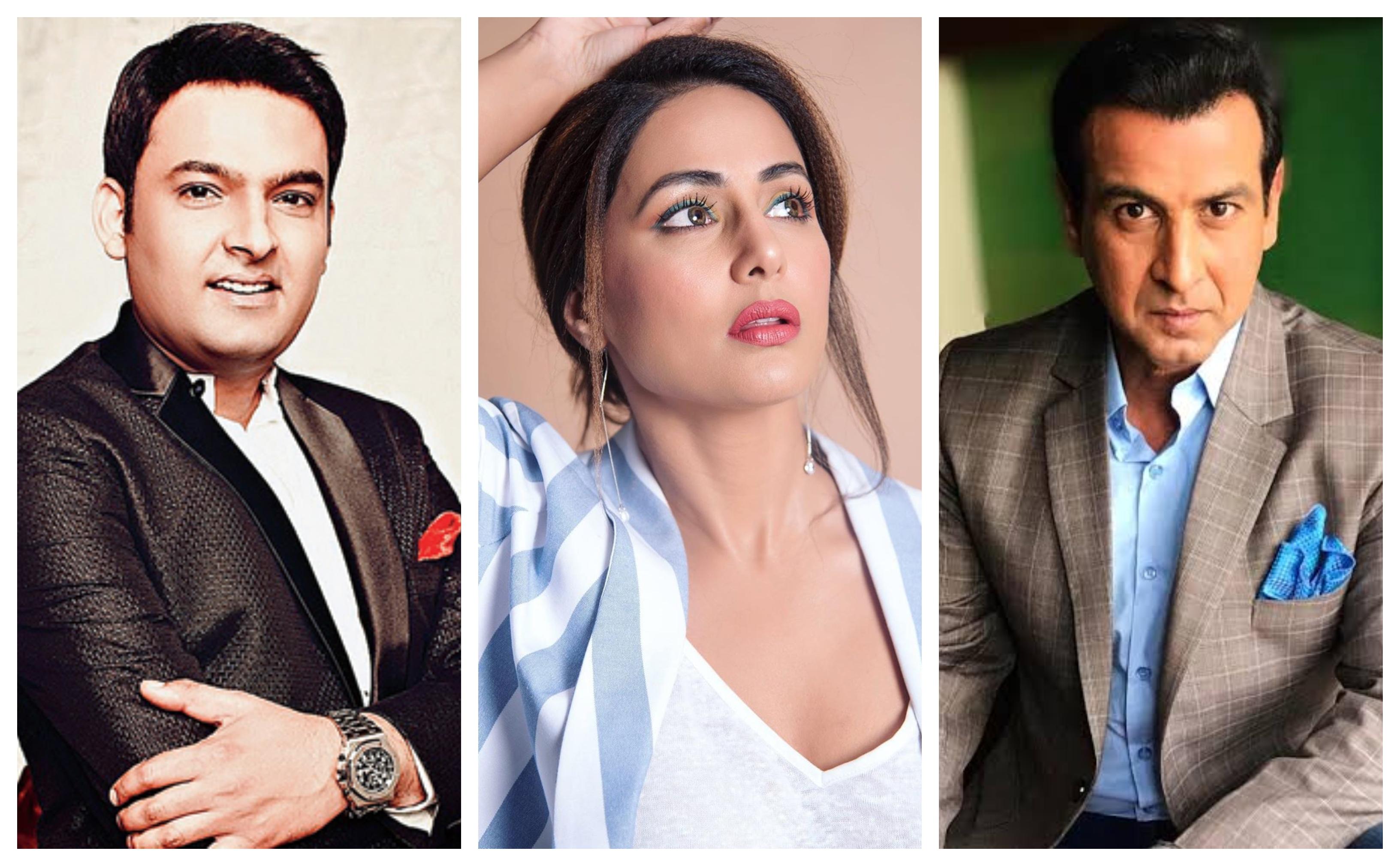 Kapil Sharma, Hina Khan & Ronit Roy