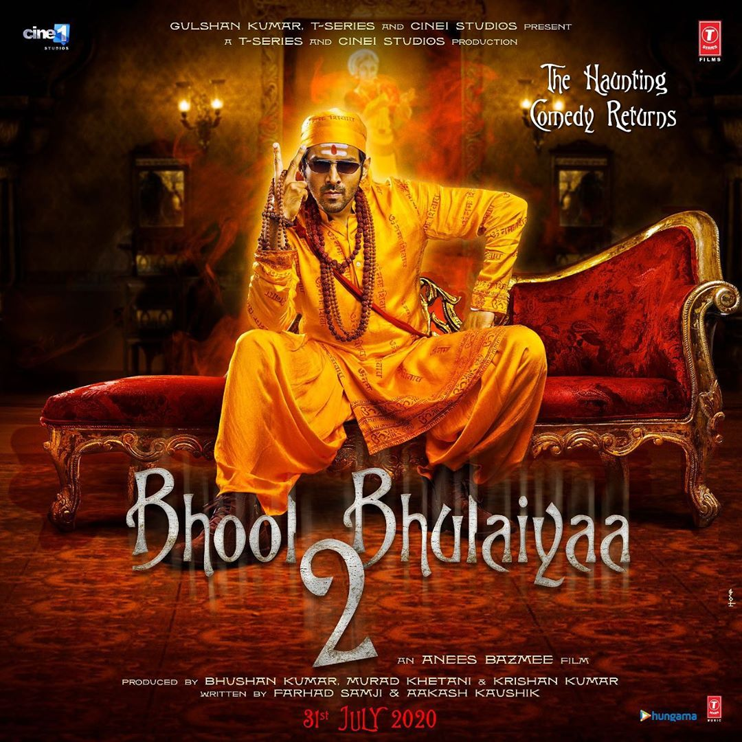 Bhool Bhulaiyaa 2 Poster